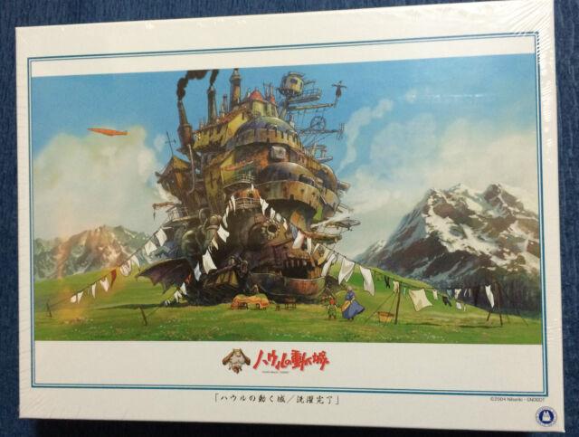 1000 piece Ensky Jigsaw Puzzle Howl's Moving Castle - Clothes line Studio Ghibli