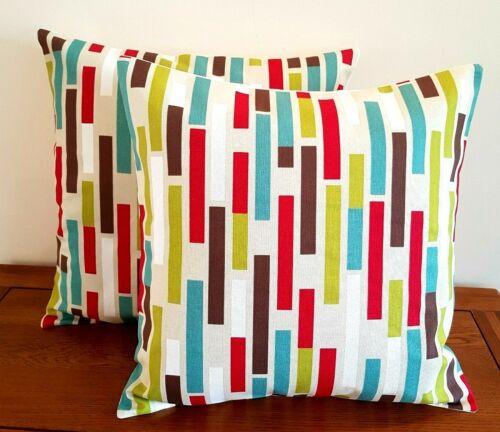 "14/"" 16/"" 18/"" New Cushion Cover iLiv  Azari Multi Geometric Print Handmade"