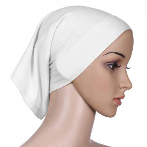 Muslimisch Islamisches Damenschal Hijab Kopftuch Halstuch Schal Kappe Schalmütze