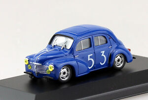 Renault-4CV-Racing-Bol-Dor-53-1-43-Eligor-Blister-Modellauto-Die-cast