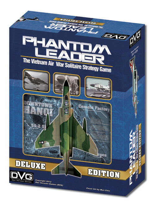 Phantom Leader Deluxe Edition, Solitaire Solitaire Solitaire Wargame, New by DVG, English Edition c9bb7d