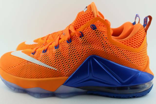 LEBRON XII LOW BRIGHT CITR  Uomo Size: 8.0 NEW RARE AUTHENTIC BASKETBALL
