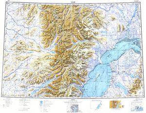 Details about Russian Soviet Military Topographic Maps - KENAI (USA,  Alaska), 1:500K, REPRINT