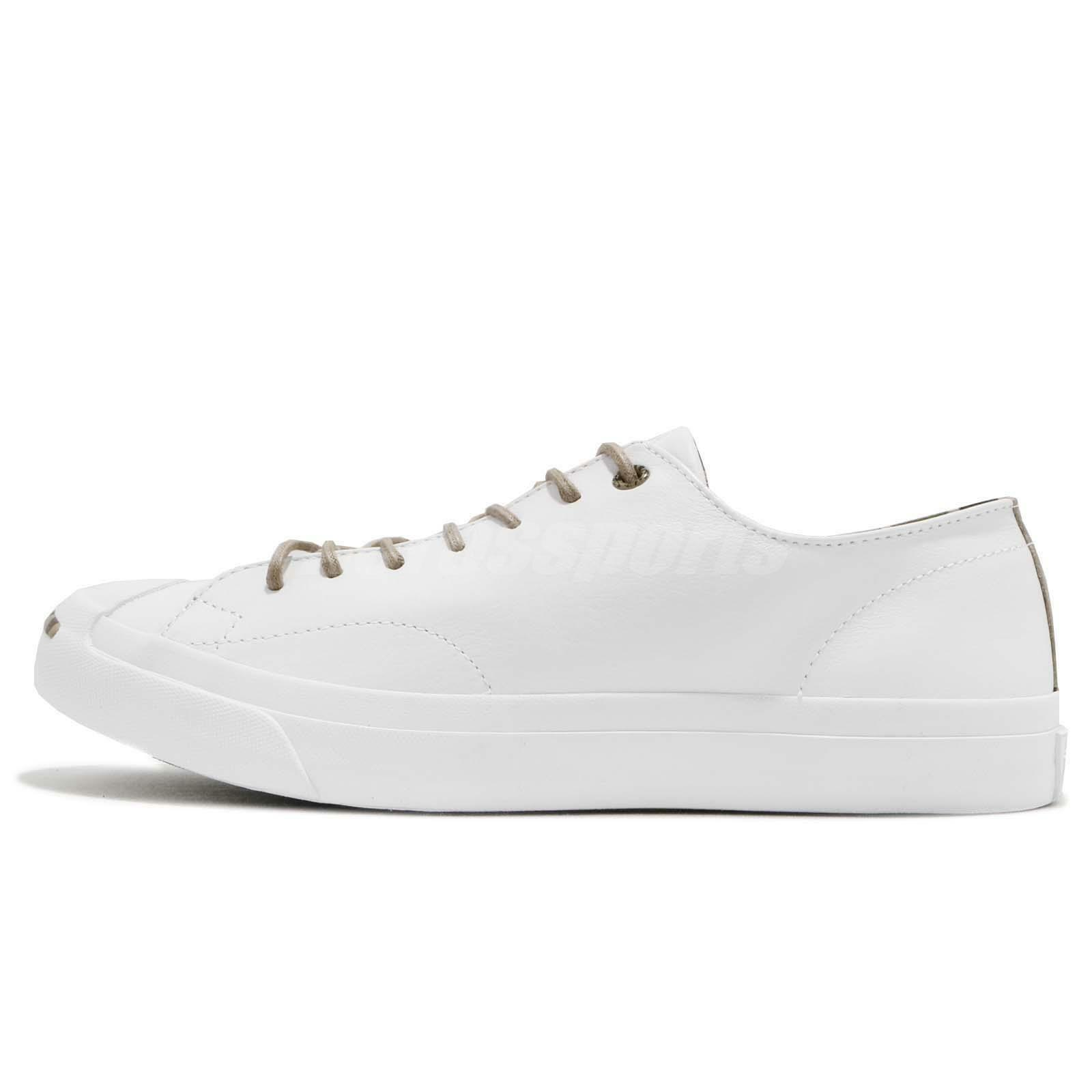 NEW Converse Jack Purcell  Leather Ox White 160214C  Purcell US Mens 10 d27e35