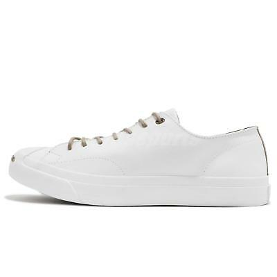 NEW Converse Jack Purcell Leather Ox White 160214C US Mens 10 | eBay