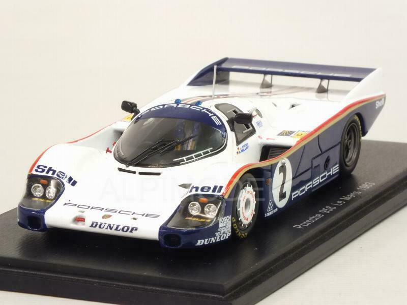 Porsche 956 Le Mans 1983 Mass - Bellof 1 43 SPARK S5504