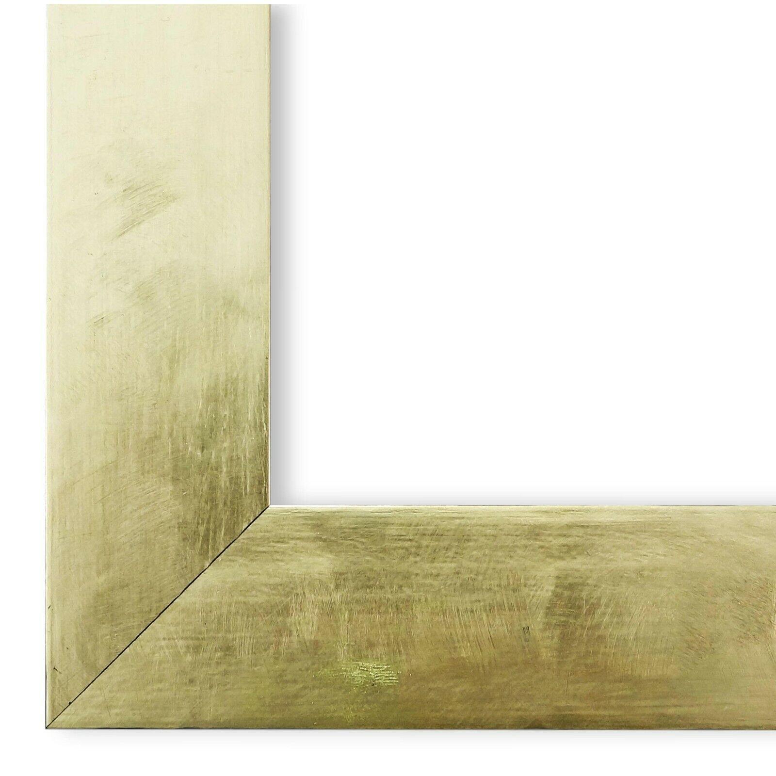 Bilderrahmen Rahmen Gold Shabby Retro Holz Lecce 3,9 - NEU alle Größen