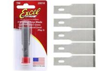 Excel 20018 - #18 1/2in Small Chisel Blade (5 pack)