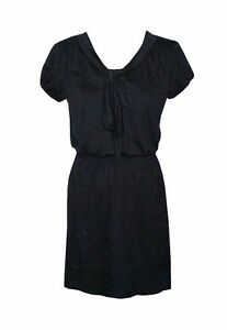 NEW-AUTHENTIC-ALLISON-BRITTNEY-DRESS-BLACK-SIZE-SMALL-BUST-32-33-034