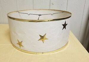 Big-18-034-True-Vintage-Mid-Century-Modern-Starburst-Fiberglass-Lampshade-Atomic