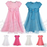 Flower Girl Dress Bridesmaid Dress Formal Occasion Party Dress W Sleeves 2-13 Y