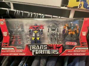 Transformers 2007 Movie & Cybertron Lot TARGET EXCLUSIVE LEGENDS CLASS 4 PACK