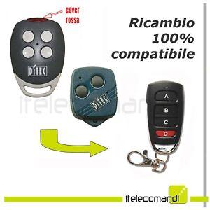 Avoir Un Esprit De Recherche Telecomando Apricancello Compatibile Con Ditec Gol4c Radiocomando 433,92 Mhz Usines Et Mines