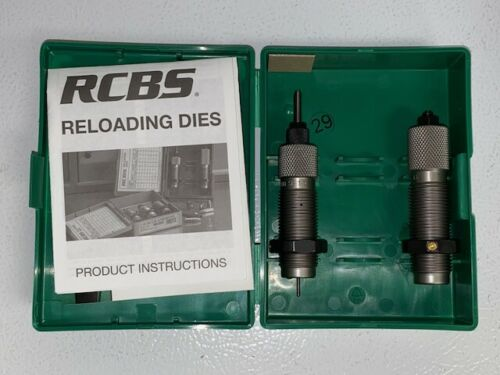Details about  /RCBS 6mm Rem Small Base Die Set 11503