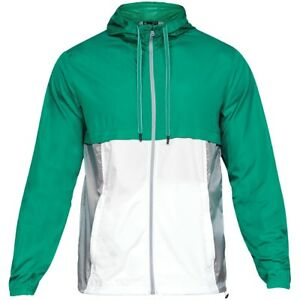 Under Armour Sport Style Windbreaker Hommes Veste Anorak Green 1306482-508-afficher Le Titre D'origine 6ee5ukzs-07223620-286393744