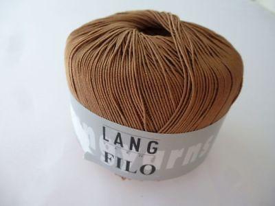 Lang Yarns cazó 0034//50g lana 17.00 EUR por 100 G
