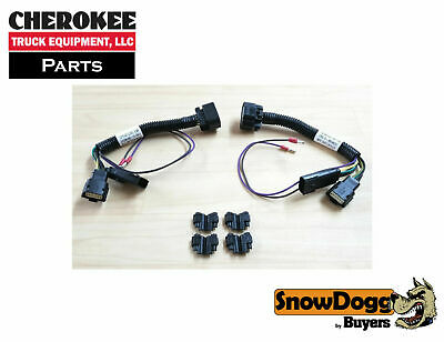 2015 G Buyers 16071180 SnowDogg Inline Headlight Adapter for 2014-2015 GM 1500
