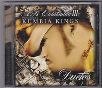 A.b. Quintanilla & The Kumbia Kings-duetos Tejano Tex Mex Cd Sealed (51)