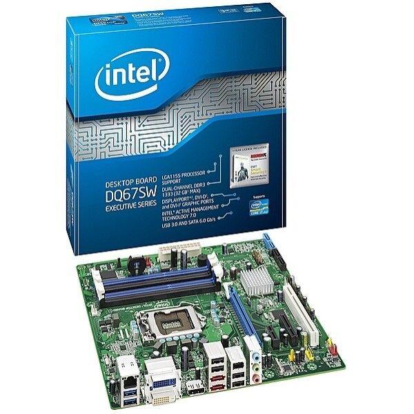 i5 2500 3.3Ghz CPU Intel DQ67SW mATX 1155 Motherboard intel heatsink fan