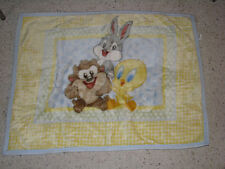 BABY LOONEY TUNES BLANKET BUGS BUNNY TAZ TWEETY LUXE PLUSH FUR FURRY FLEECE