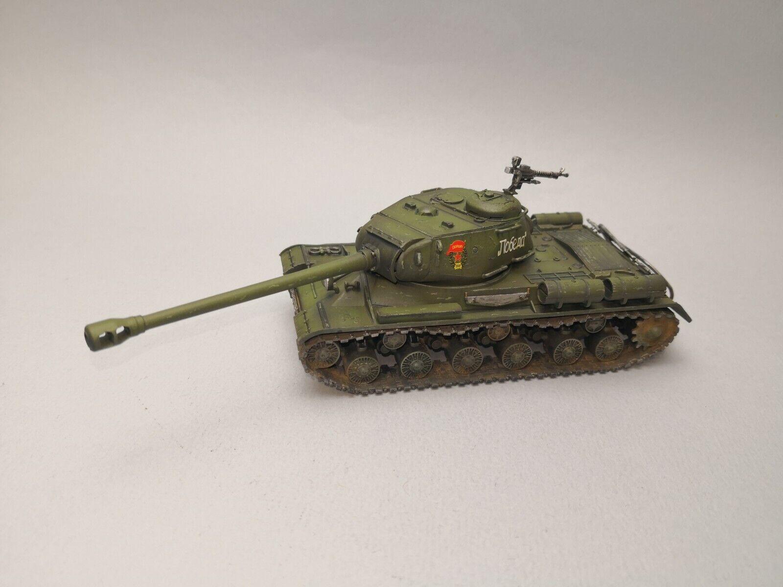 Tanque pesado soviético de IS-2 1 56 28mm Perno acción Segunda Guerra Mundial Pro Pintado