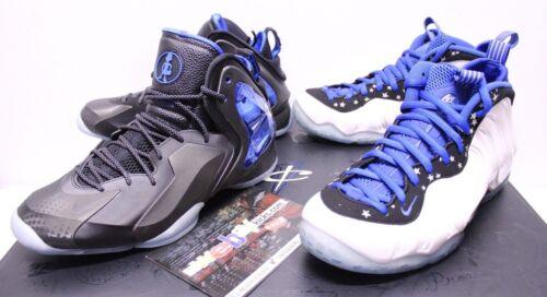 Shooting de hombre Pack zapatillas Stars White Blue Foamposite Novedades Air Allstar 10 Nike para InxPfXE