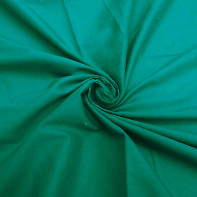 5 Yard 100/% COTTON SOLID VOILE SEWING BROWN PLAIN COLORS Fabric Indian Material