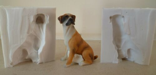 3D 6cm Sitzen Boxer Hund Silikonform Für Kuchendekoration Schokolade Ton Usw