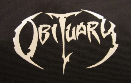 Obituary Patch Death Metal Morbid Angel Bolt Thrower Deicide Grave Suffocation