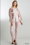 UMGEE-S-Floral-Mixed-Printed-Long-Puff-Sleeve-Waffle-Knit-Top-With-Raw-Round-Hem thumbnail 2