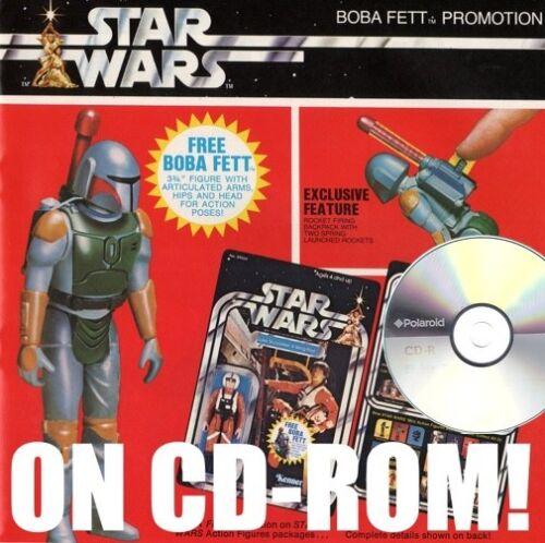 1979 STAR WARS KENNER DEALER TOY CATALOG ON CD-ROM + FIRING BACKPACK BOBA FETT