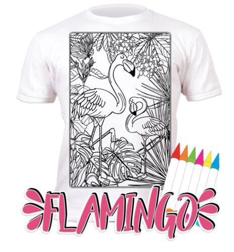 Splat Planet Colour In T-Shirt Girls Unicorn Princess Mermaid Llama Ballerina