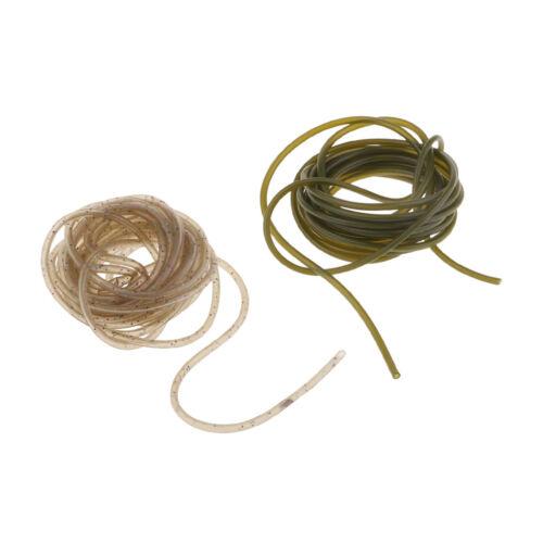 2m Gummi Rig Tube Karpfenangeln Rig Sleeves Hook Line Connector