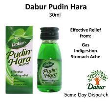 2x Dabur Pudin Hara Active 30ml Herbal Cure of Stomach Ache, Gas & Indigestion