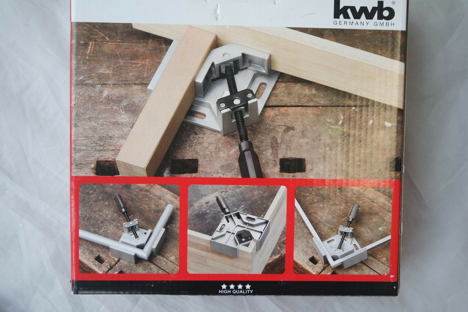 KWB 9833-00 Gehrungszwinge 90 Grad