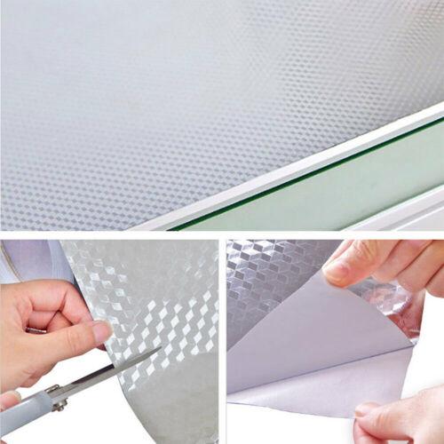1//10M Aluminum Foil Self Adhesive Waterproof Anti oil Stove Tile Wallpaper-Home