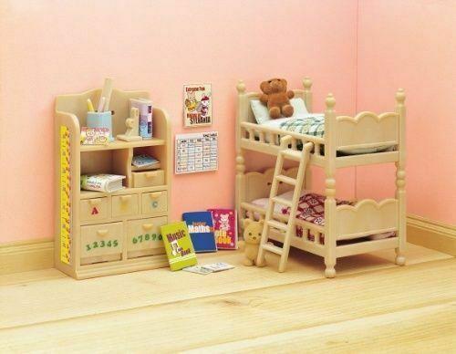 Sylvanian Families Calico Critters Children S Bedroom Furniture Set For Sale Online Ebay