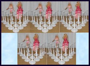 KAISER  #2201 DOLL STANDS for LIV DOLL  Barbie  WHITE # 2201 24
