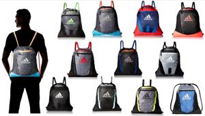 adidas Rumble Sack Pack Onix Drawstring Gym Bag Backpack Unisex Sports Sackpack