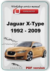 jaguar x type repair manual