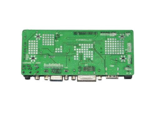 HDMI DVI VGA LCD LVDS Controller Board Work For N154I2-L02 N154I3-L03 LCD Screen