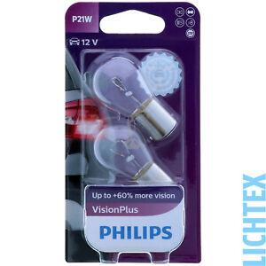 """P21w Philips Visionplus-plus Puissant Lumière-duo-pack-eres Licht Scheinwerfer Lampe Duo-pack"""" Data-mtsrclang=""""fr-fr"""" Href=""""#"""" Onclick=""""return False;"""">afficher Le Titre D'origine Bfajy6tb-07212312-278688368"""