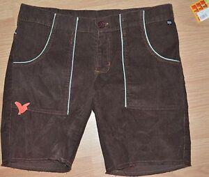 lunghi Nwt Paul Frank marrone pantaloncini scuro di 28 Nuovi di nylon 6q850w