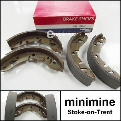 Classic Mini Rear Brake Shoe Set Genuine Unipart GBS834 kit austin morris rover