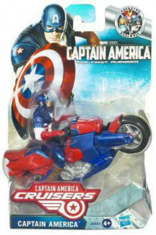The First Avenger Captain America Crusiers Zoom N Go Power Charge Cycle