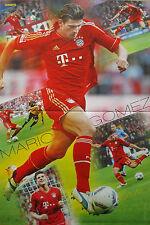 Mario Gomez   __  1 Poster  __  A3  __  28 cm x 42 cm