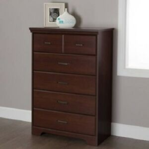 Details about Dresser Drawers 5 Drawer Dressers Bedroom Women Kids Men Wood  Storage Chest New