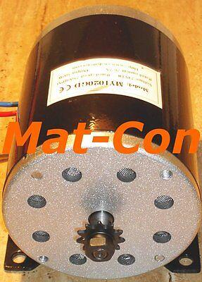 E-Motor Elektromotor Gleichstrommotor Generator MY1020GD DC 1000W 1KW 36V/48V