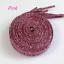 1Pair-Flat-Glitter-Colored-Shoe-Laces-Shoe-Laces-Bootlaces-110cm-Fashion thumbnail 17