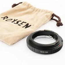 Macro Advanced EMF AF confirm adapter Minolta MD lens to Canon EOS 5D III 6D 70D